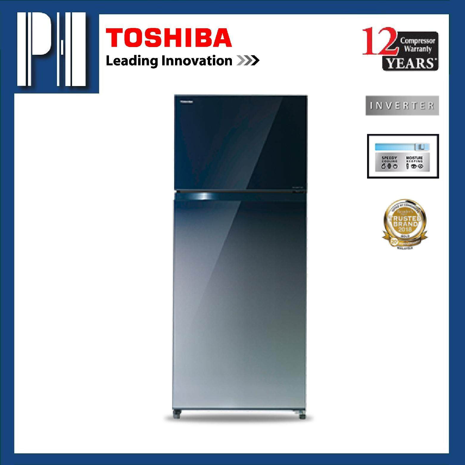 TOSHIBA GR-HG55MDZ (GG) 550L Inverter 2 Door Refrigerator/Fridge