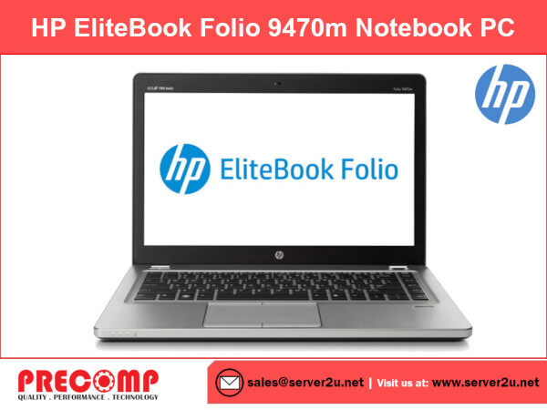 (Refurbished) HP EliteBook Folio 9470m Notebook PC (i5-3427U.4G.128G) (9470m-i5-4/128) Malaysia