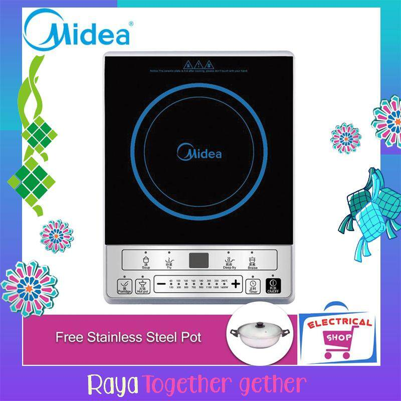 Midea Induction Cooker C16sky1613 (free Seel Pot) By Electrical Shop.