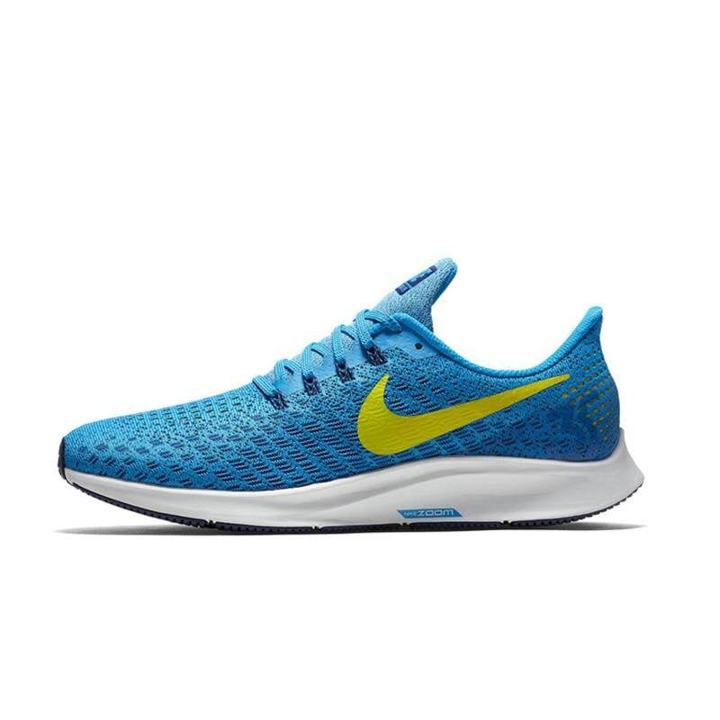 ตรัง Nike_AIR_ZOOM PEGASUS 35 Men s Running Shoes non-silp Wear-resistant Breathable Lightweight Shock Absorbed Fashion Shoes