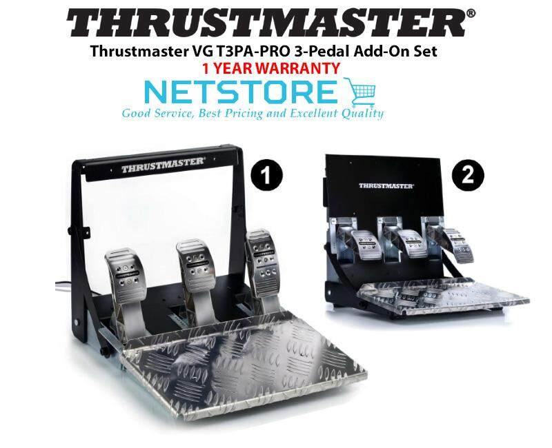 Thrustmaster VG T3PA-PRO 3-Pedal Add-On Set - PC / Xbox One / PS4 ( 4060065  )