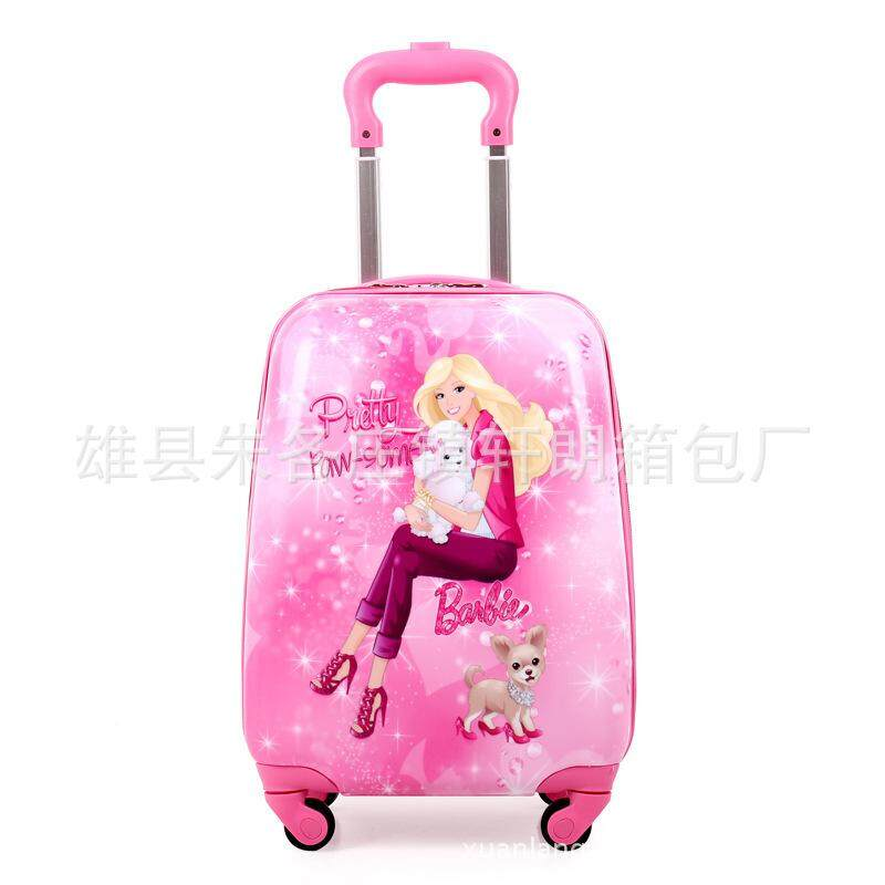 Customized a variety of patterned luggage children cartoon eggshell trolley case manufacturers wholesale 18 inch caster suitcase