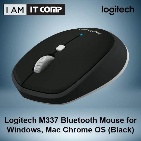 Logitech M337 Bluetooth Mouse for Windows, Mac Chrome OS-Black Malaysia