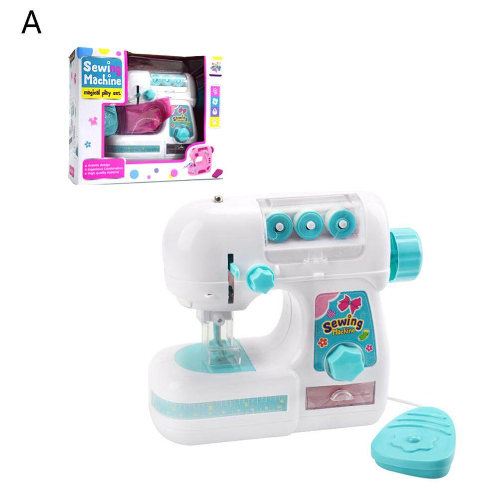 Electric Sewing Machine Toy for Girls Small Household Appliances Toys Kids Play