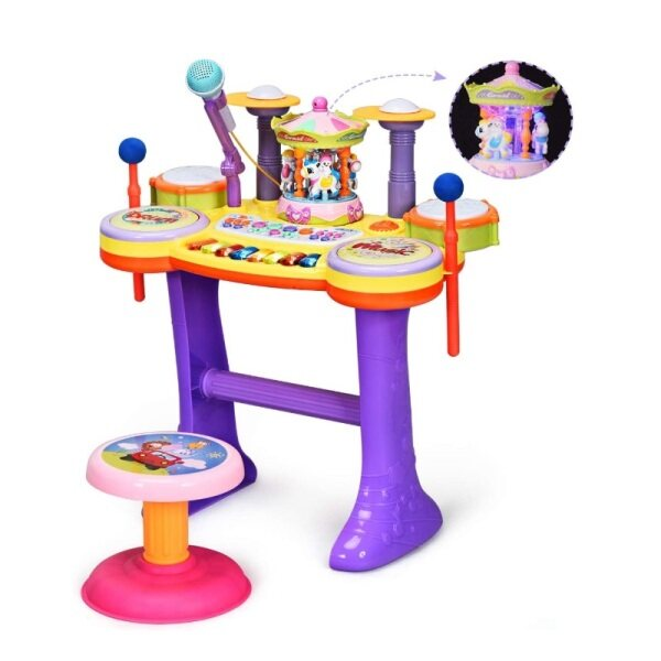 4 in1 Educational Piano Drum Toy Set Malaysia