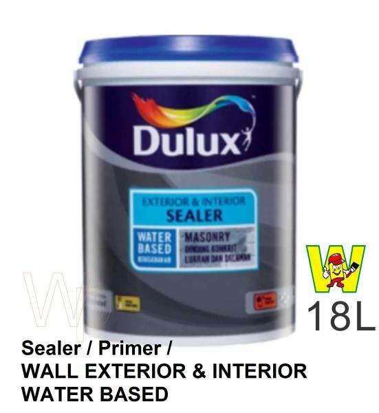 wall sealer white ( 18L ) Dulux Paint Exterior & Interior Sealer 15527 / water based sealer / wall sealer primer