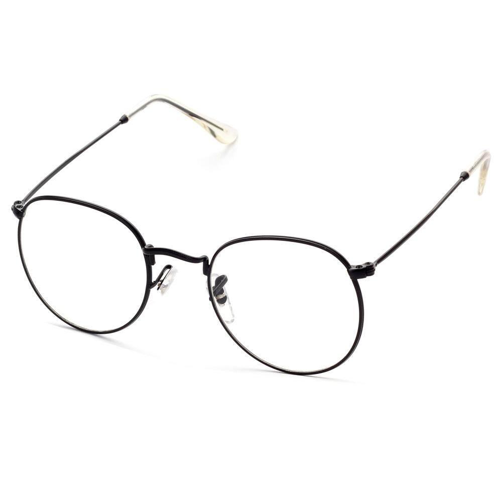 b5270aea08a2 Retro Optical Glasses Frame for Men Gold Clear Lens Male Eyeglasses Frame  Women Metal Frame Unisex