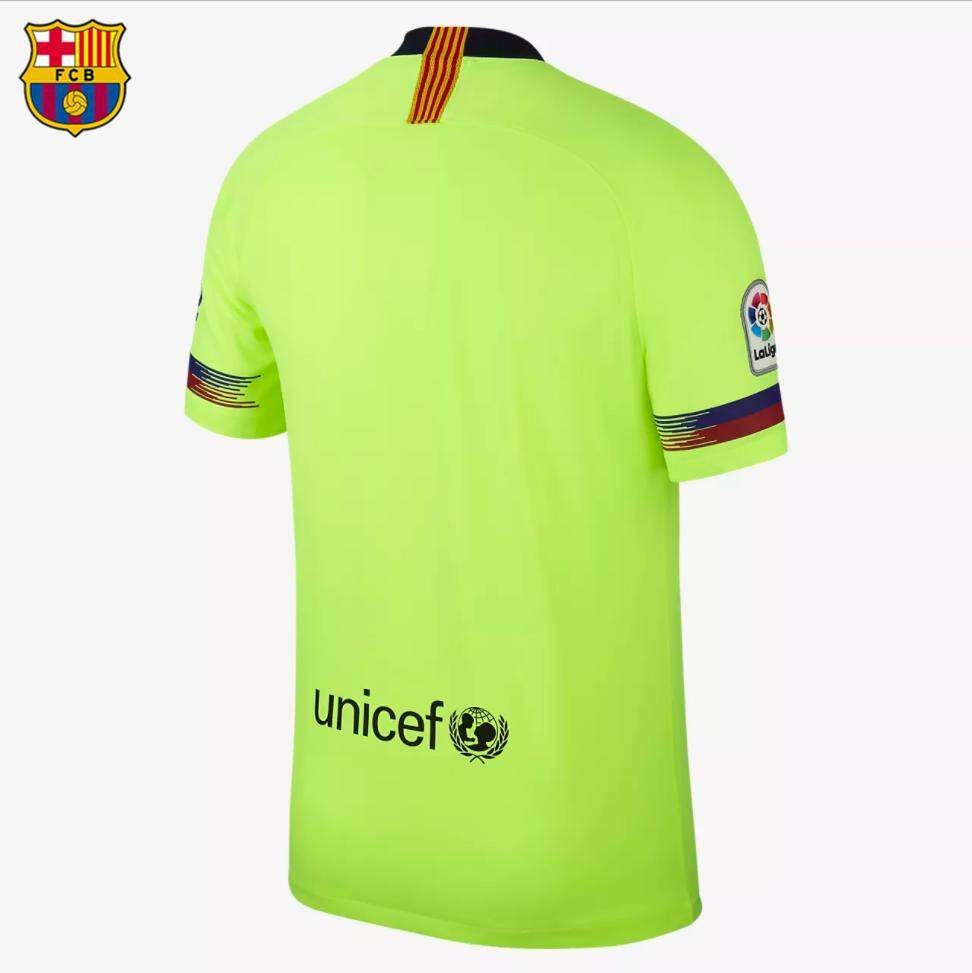 da97b1fdde8 Product details of Free shipping Top Quality 2018/2019 FCB Away Football  Jersey Soccer Jersey No.10 MESSI Football Shirt Football Jersi COD