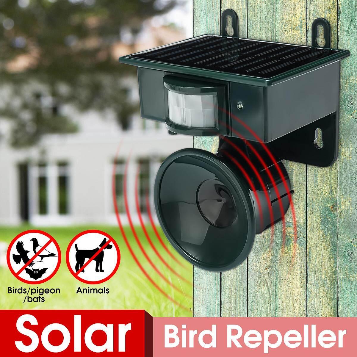 【Free Shipping + Flash Deal】Solar PIR Sensor Pest Repeller Animal Bats Bird Cat Dogs Scarer Chaser Deterrent
