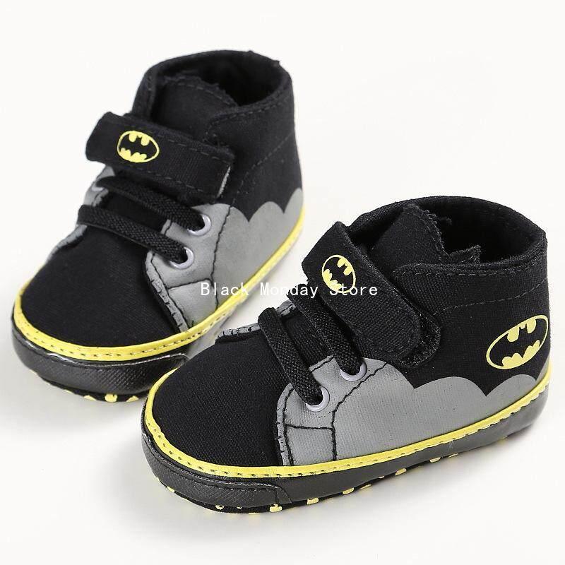 BM 0-1Years Pria dan Wanita Bayi Sepatu Balita Alas Kaki Lembut Kasual Modis Sepatu