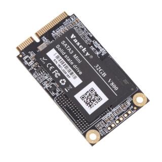 Gazechimp Ổ SSD MSATA 32GB Ổ SSD Hiệu Suất Cao Đĩa Cứng Bên Trong, Ổ Đĩa Thể Rắn Cho Máy Tính Xách Tay -Đen thumbnail