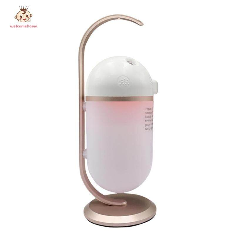 Ultrasonic Mini Air Humidifier Portable Essential Oil Diffuser Aromatherapy Mist Maker for Bedroom Singapore