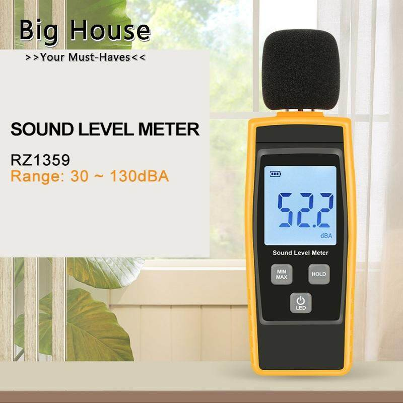Big House Digital Sound Level Meter DB Meters Noise Tester in Decibels LCD Screen