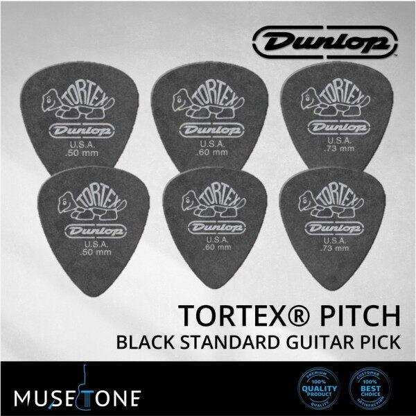 Jim Dunlop TORTEX Pitch Black Standard Guitar Pick 0.50mm to 0.73mm Malaysia