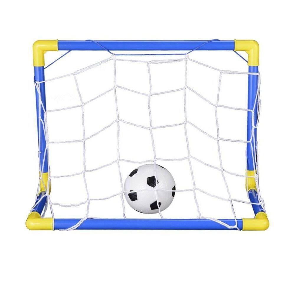 a9d150540 China. Indoor Mini Folding Football Soccer Ball Goal Post Net Set+Pump Kids  Sport Outdoor Home