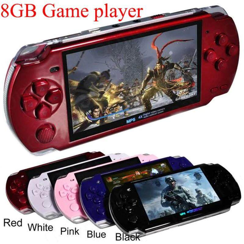 2019 New 4.3 Inch 8gb Psp Handheld X6 Game Player With 1000+ Games Built-In Support Video Camera.