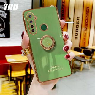 Ốp Điện Thoại YBD Cho Oppo Realme 6i 5 5i 5s, Ốp Điện Thoại Mạ Chống Rơi Phong Cách Nữ Tính Có Giá Đỡ thumbnail
