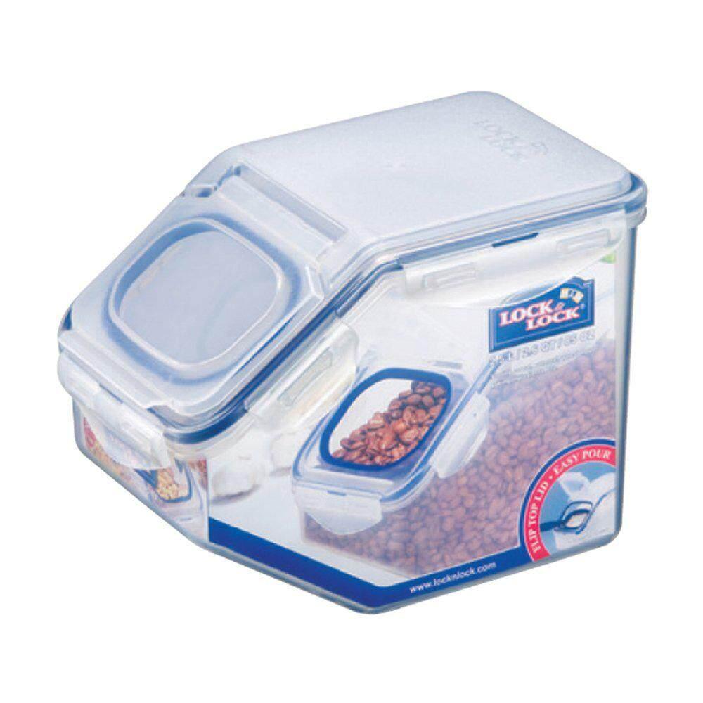 Lock & Lock Storage Bins Food Storage Container with Flip-top lids (2.5kg