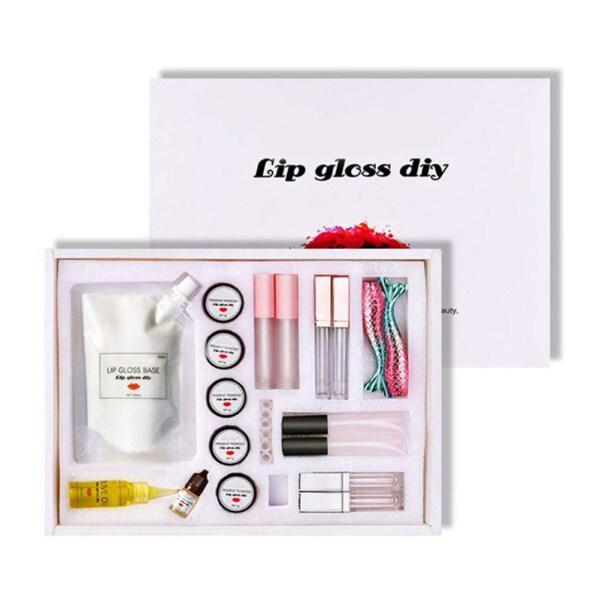 Buy LOMG Lip Gloss DIY Making Kit Make Your Own Lip Gloss DIY Lipstick Raw Material Singapore
