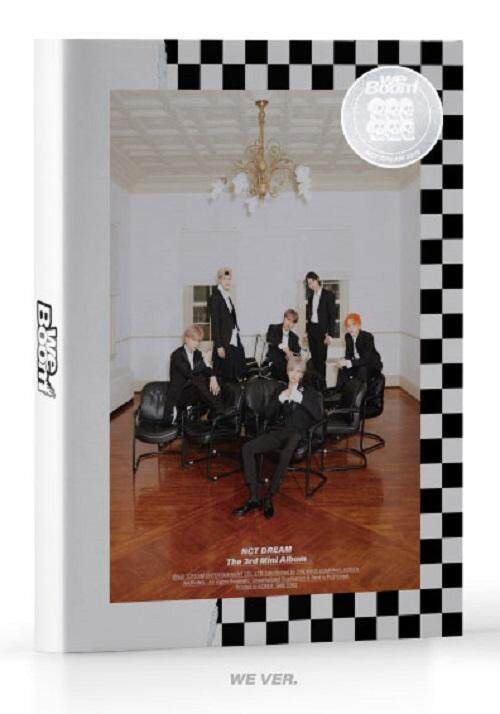 NCT DREAM - WE Boom [WE ver.] (3rd Mini Album) CD+Photobook+Photocard+Folded Poster+Double Side Extra Photocards Set