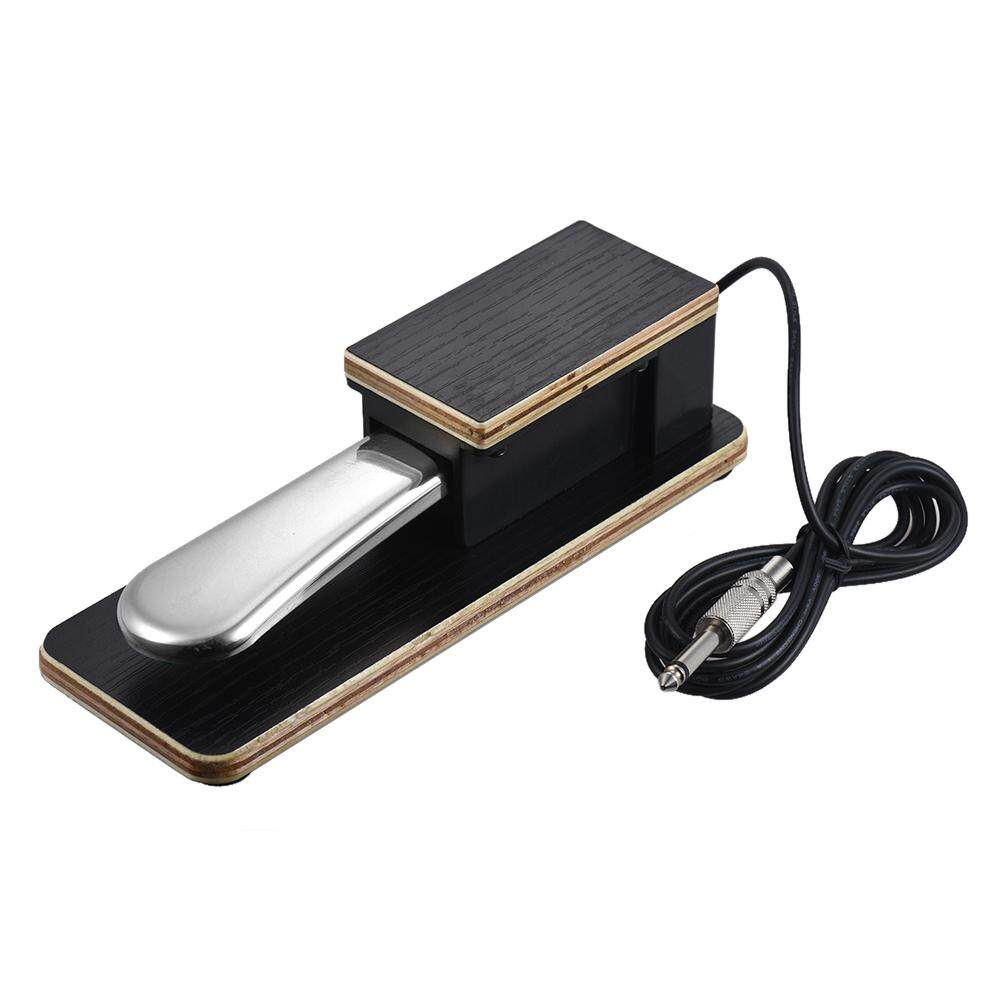 Universal Piano Sustain Pedal Keyboard Foot Damper Pedal 6.35mm Plug for Casio Yamaha Roland Electronic Keyboards