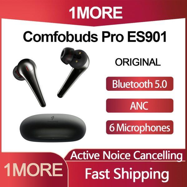Original 1MORE ComfoBuds Pro ES901 TWS Active Noise Cancelling Bluetooth 5.0 Earphone with 6 Microphone ANC Earbuds Dynamic Singapore