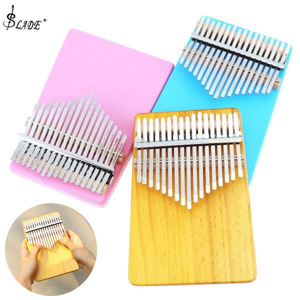 SLADE 17 Key Thumb Piano Kalimba Single Board Mini Keyboard Instrument Malaysia