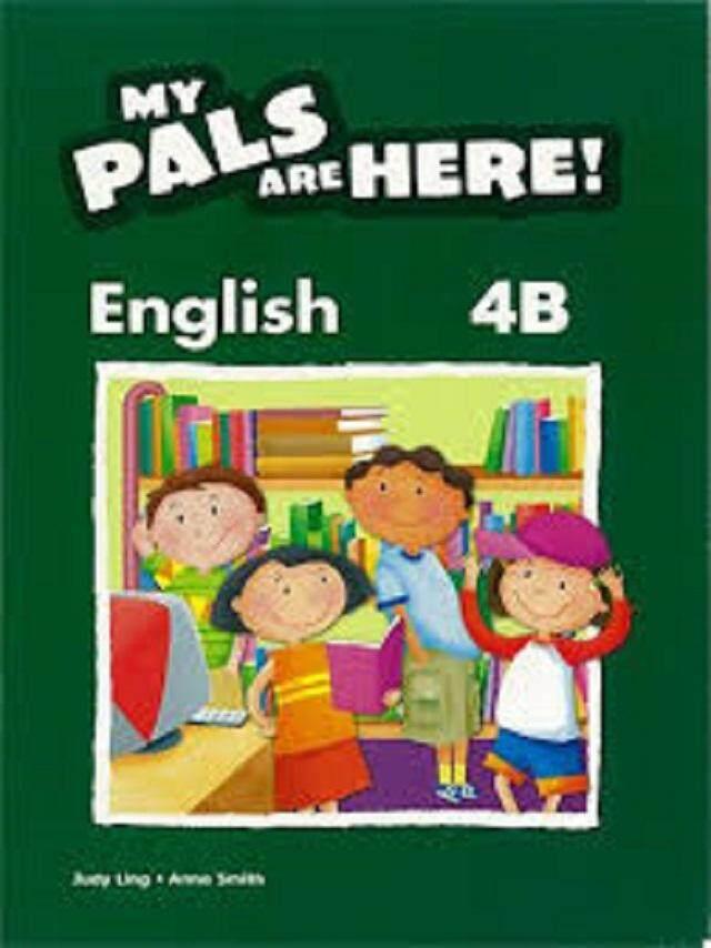 My Pals Are Here ! English Tb 4b - British /- ISBN: 9780462008950