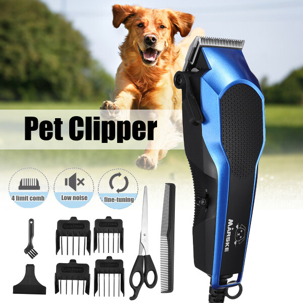 Electrical Dog/Cat Hair Trimmer USB Charging Pet Hair Clipper Rechargeable Low-noise Cat Hair Remover Grooming Hair Cutter Machine