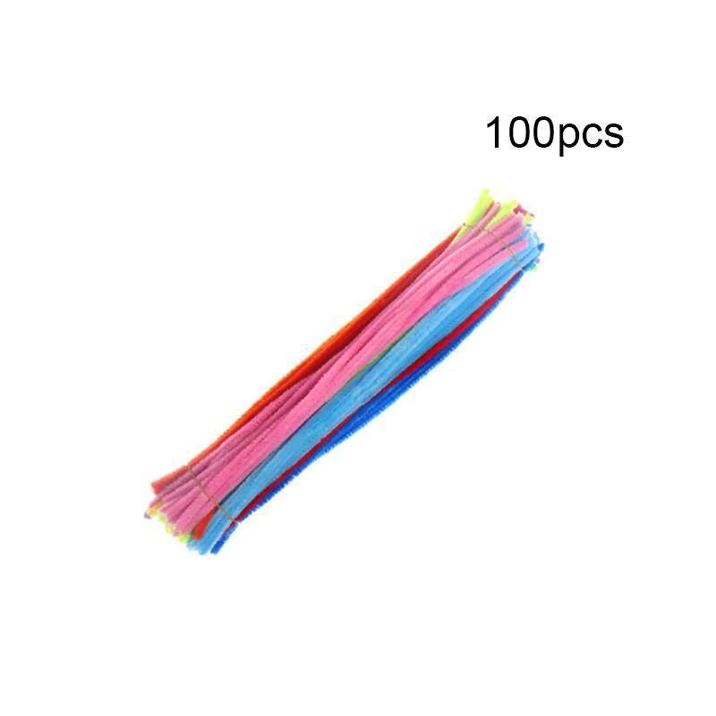 Likelyhood Glitter Stems ท่อทำความสะอาด Tinsel Stems สาย Sticks เด็ก Diy อุปกรณ์งานประดิษฐ์ของเล่น 100 Pcs By Likelyhood.