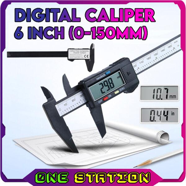 6 INCH (150mm) FIBRE ELECTRONIC DIGITAL CALIPER