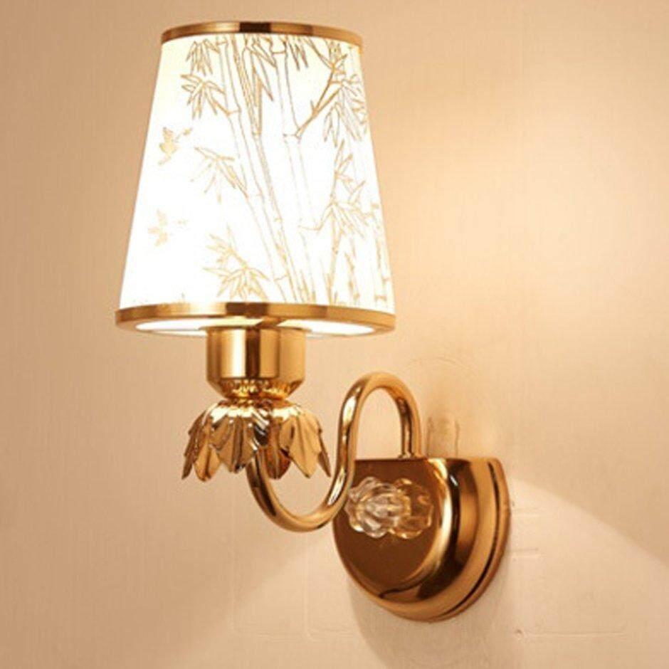 Best Sales Minimalist Led Crystal Wall Light Lamp For Bedroom Living Room Decoration B057