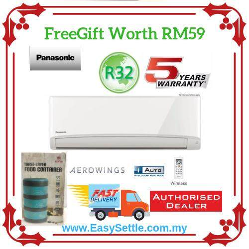 Panasonic CS-PN9VKH/CU-PN9VKH 1.0hp R32 Air Conditioner *With Free Gift*