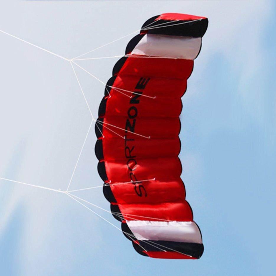 [โปรโมชั่น] 1.8 M สาย Kitesurfing ร่มชูชีพนุ่ม Parafoil Sail Surfing ว่าวลอยได้ By Kakagardener.