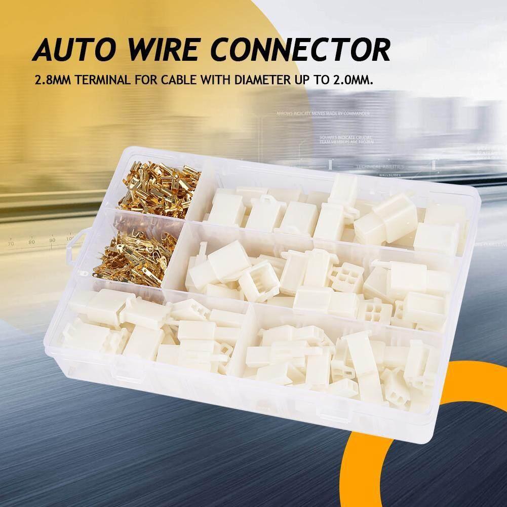 [[Bảo Đảm Chất Lượng] 380 Cái/bộ 2.8 Mm 2 3 4 6 Pin Tự Động Điện Dây Nhà Ga Kết Nối Dành Cho Xe Ô Tô động Cơ