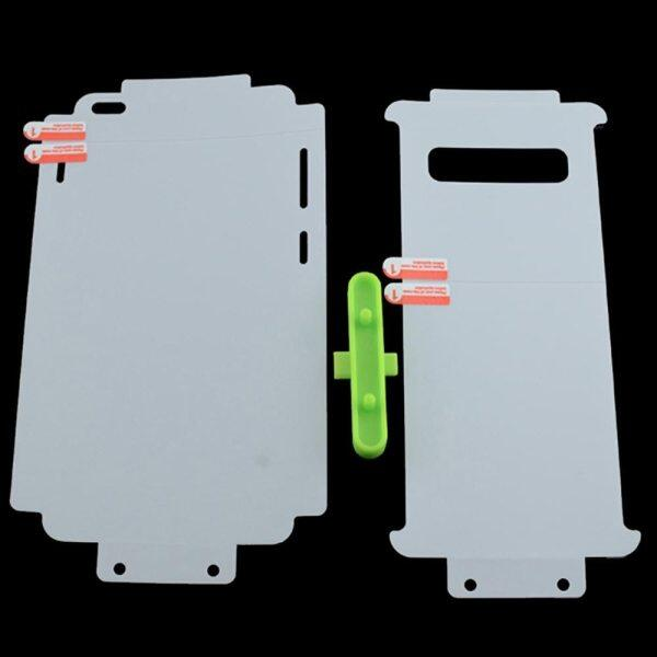 Front+Back Soft Full Body Edges Sides Hydrogel Film for Samsung Galaxy S20 S10 S9 S8 Plus Ultra Note 20 10 9 8 Screen Protector