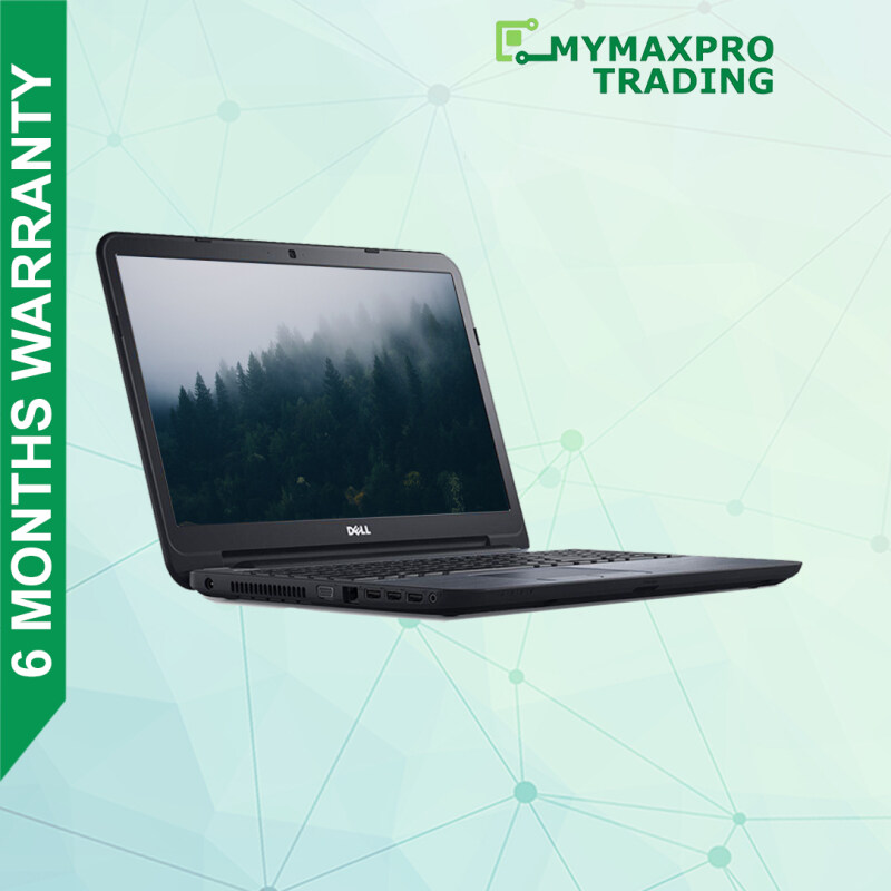 DELL i3/i5 5th Gen 3350 3450 Laptop Latitude DDR3 RAM HDD or SSD Win 10 For Office Use Malaysia