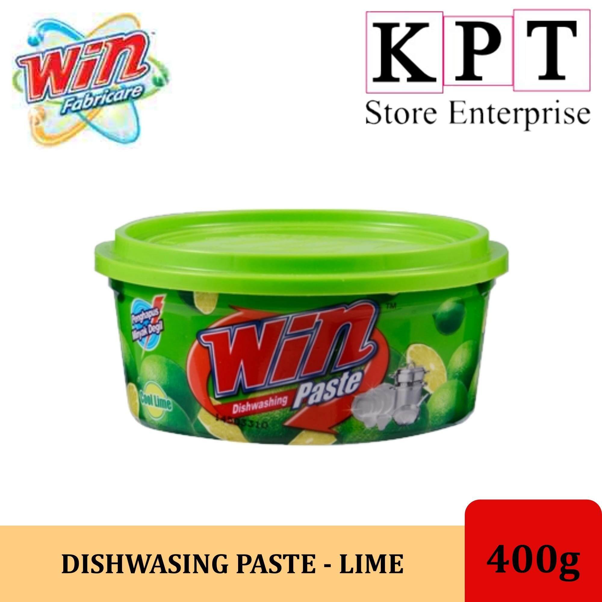 WIN DISHWASING PASTE - COOL LIME 400g