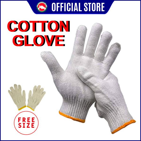 Hand Glove - Cotton Glove / Yarn Glove - Protective Equipment - Sarung Tangan Kain DIY