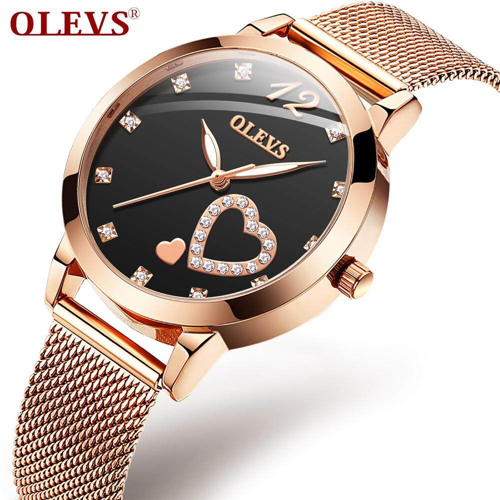 OLEVS  ladies watch new genuine fashion waterproof simple trend  temperament watch  French niche quartz watch  accurate travel time Malaysia
