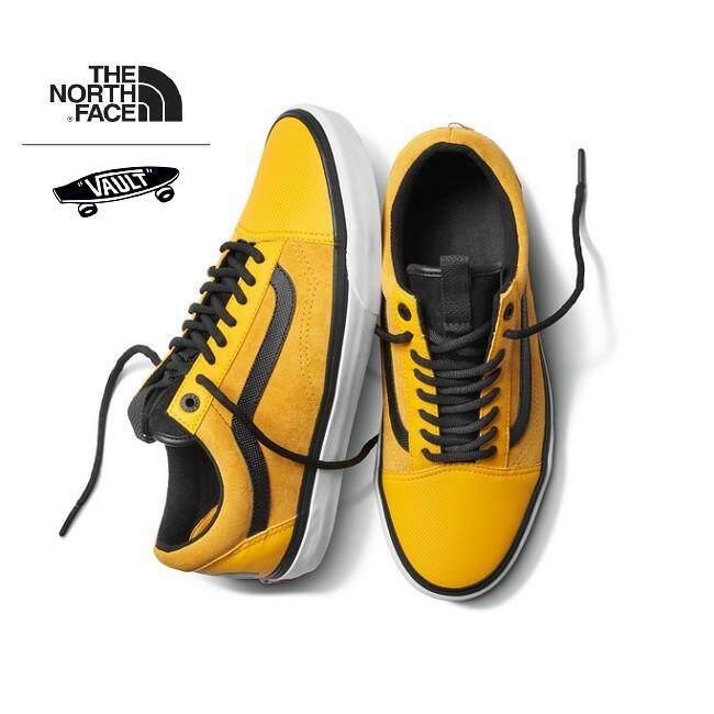 49703411969 Vans x The North Face Men Old Skool Sneakers (Yellow