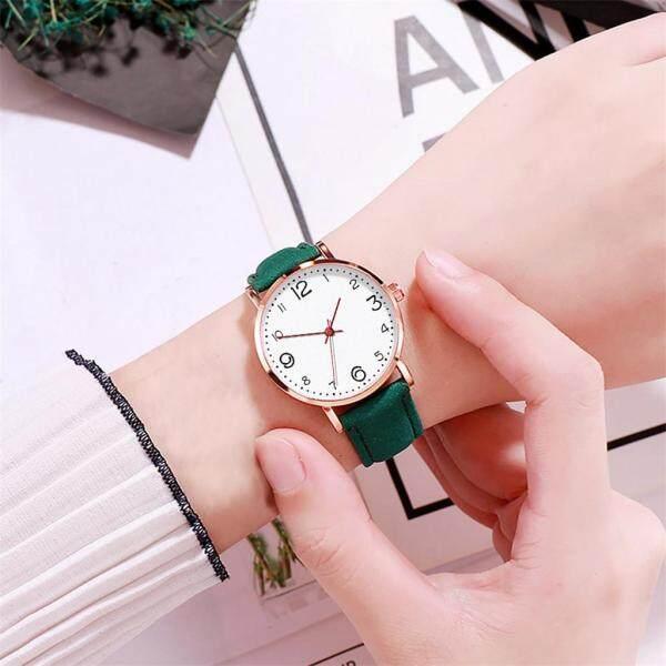 LKJ Fashionable Temperament Female Mesh Leather Belt Watch Quartz Analog Round Watch watch for women on sale original Malaysia