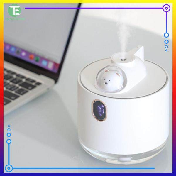 500ml Professional Aroma Humidifier Cute USB Air Diffuser with LED for Home Office Mist Maker Singapore