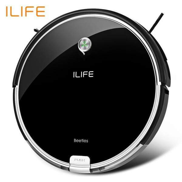 ILIFE A6 Smart Robotic Vacuum Cleaner Anti-Drop Remote Control Automatic Home Robot Sweeper(EU Standard) Singapore