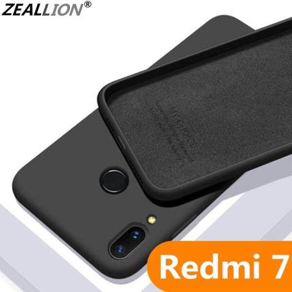 Zeallion Cho Xiaomi Redmi 7 Note 7 Chất Lỏng Cao Su Silicone Mềm Mại Ốp Lưng TPU Cho Bé-Da Siêu Mỏng Bảo Vệ Chống Sốc vỏ Ốp Lưng Điện Thoại