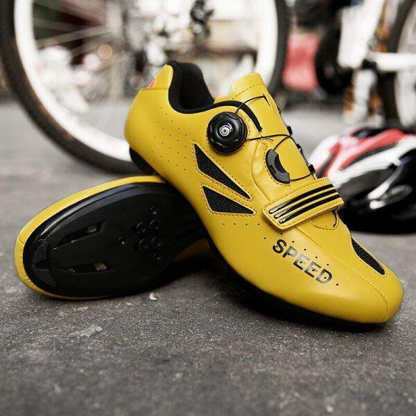 Giày Đi Xe Đạp Tự Khóa Đàn Ông Giày Thể Thao Nữ Giày Thể Thao Chạy Xe Đạp Giày Đua Xe Chuyên Nghiệp Zapatillas Ciclismo Giày Đi Xe Đạp