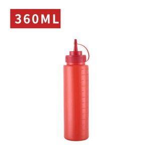 Chai Nước Sốt Chai Bóp Nhựa Cấp Thực Phẩm Có Nắp Vặn Bình Đựng Gia Vị Không BPA Hoàn Hảo Cho Gia Vị, Dầu, Kem, Chất Lỏng thumbnail