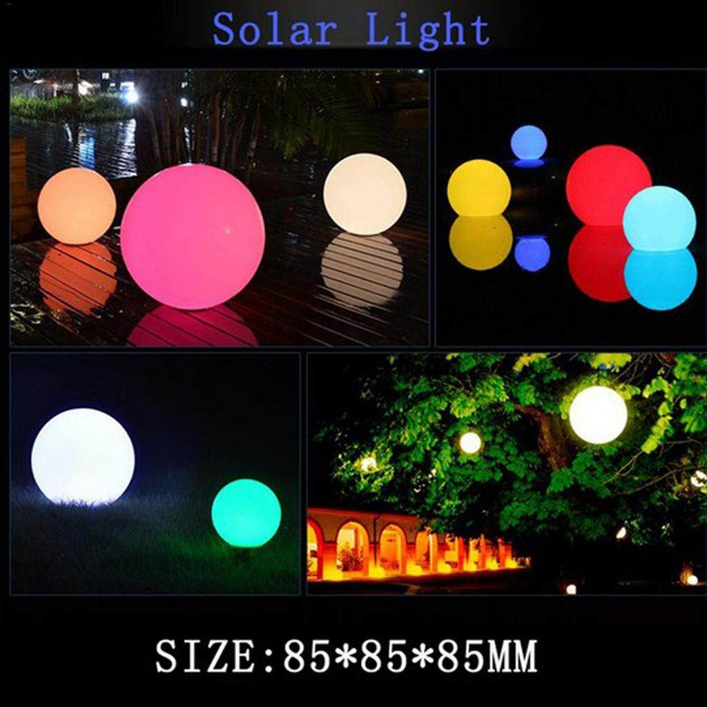MagiDeal 5pcs Solar Floating Underwater LED Waterproof Light Swimming Pool Garden RGB