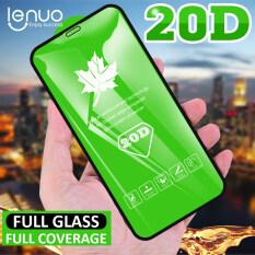 Lenuo Tấm Bảo Vệ Màn Hình Lá Phong 20D, Dành Cho iPhone 12 Pro Max / 12 Mini/SE 2020 11 Pro 11 Pro Max 8 7 6S Plus X Xr Xs Max Miếng Dán Màn Hình Kính Cường Lực Chống Vân Tay Chống Cháy Nổ