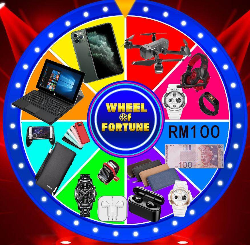 Mystery Gift Lucky Draw - Caiso Watch, HUAWEI Phone, iPad, Drone, SK2 - Amazing Gift Malaysia